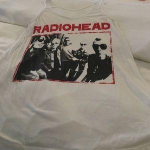 Vintage Radiohead  tank top dress